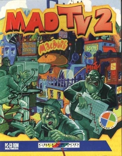 Mad TV 2 Box cover