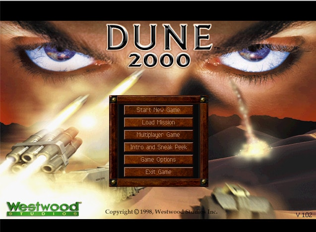 Dune 2000 Screenshot 1